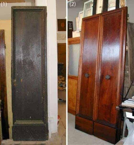 Porte e portoni vecchi ed antichi per arredare portantica - Vecchie porte in legno ...